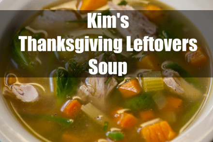 Thanksgiving Leftover Soup