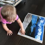 Baby jet setter is researching her next exotic location! lifeofababyhellip