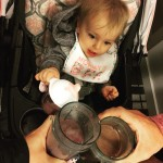 Starting the day with our fav shake! Pediatrician approved forhellip