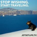 Double Tap for Santorini This dog has the right idea!!!!!hellip