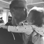 Daddys Girl Sophia giving daddy a good luck kiss ashellip